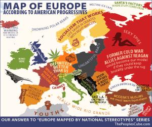 Europe Map Democrats