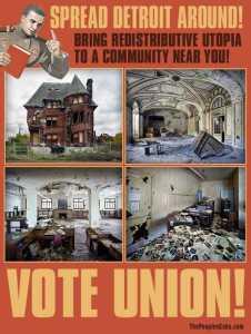 Union Poster Detroit Utopia
