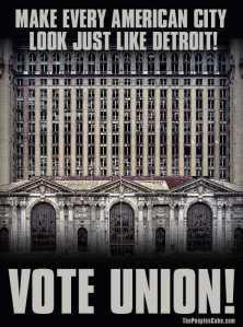 Union Poster Spread Detroit