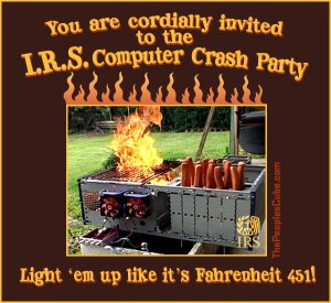 IRS_Computer_Burning