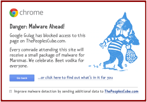 Malware_Healthcare_Chrome_Warning_Cube