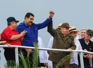 Just look at these glorious Communist leaders. Raul Castro is looking especially vigorous.