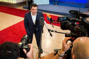 Isn't PM Tsipras just full of smiles?