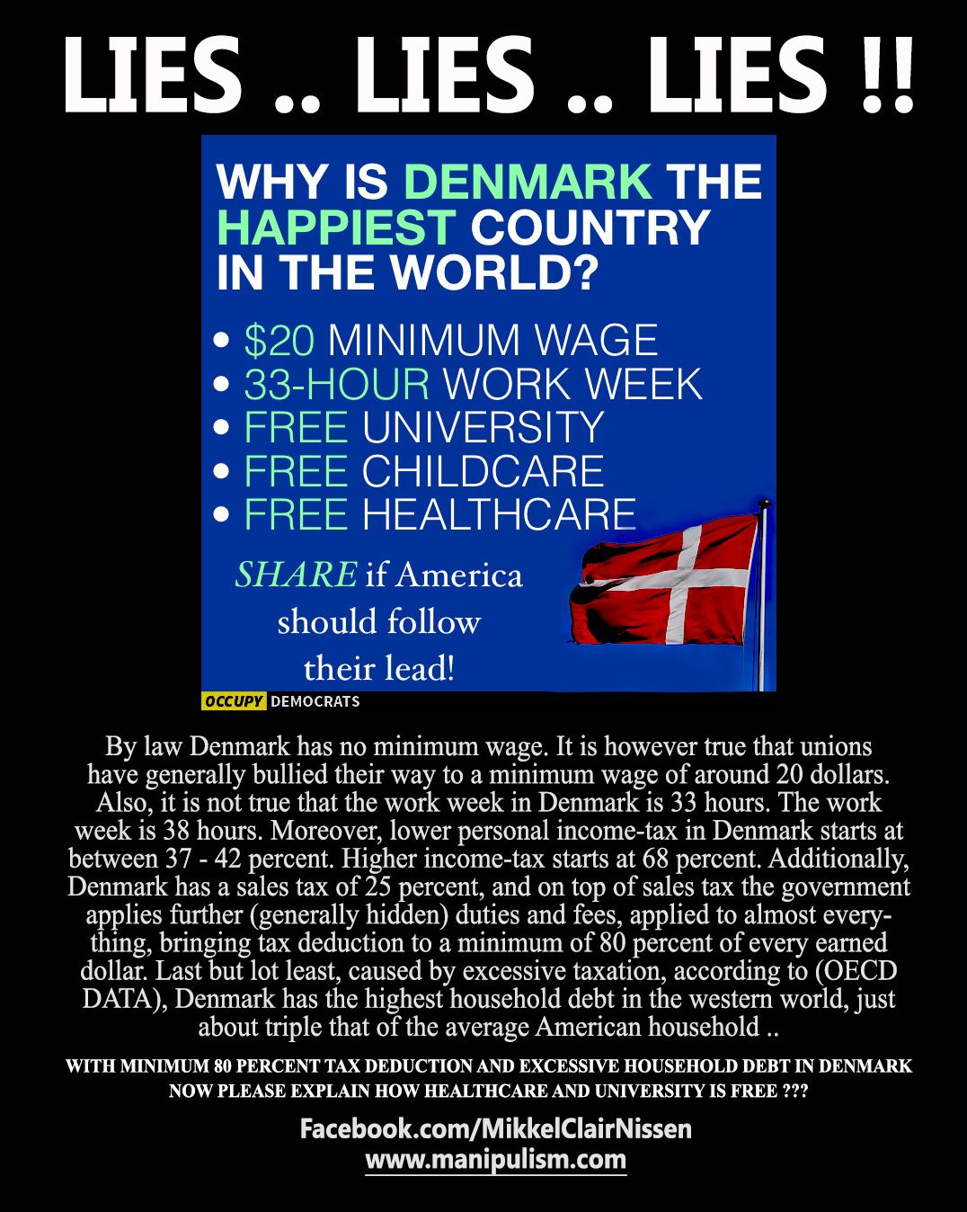 Democratic Socialism and Denmark