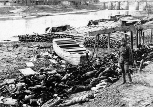 Keynesians think that war stimulates the economy right? Nothing said economic growth like the Nanking massacre!
