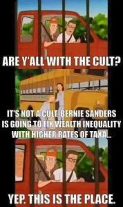 Sanders-Cult