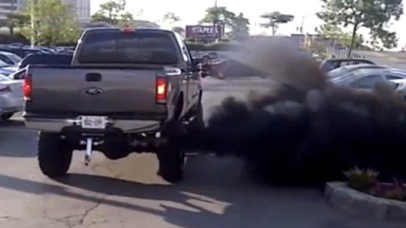 diesel+truck+rolling+coal